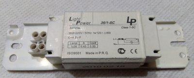 Балласт Light Power 36Wt для люминисцентной лампы