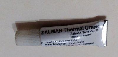 Теплопроводящая паста Zalman в тюбике 2гр.