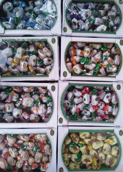Шоколадные конфеты оптом с орехами и сухофруктами, халва, пахлава