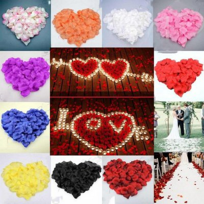 Лепестки роз для свадьбы, для декора