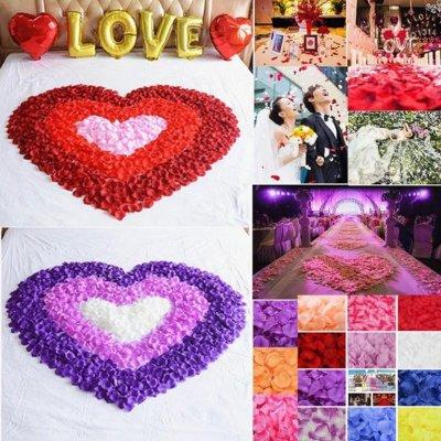 Лепестки роз №4,№8,№13 для свадьбы, фотосессии