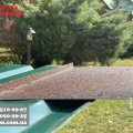Оконный отлив коричневого цвета рал 8017, отливы металлические под заказ, подоконник