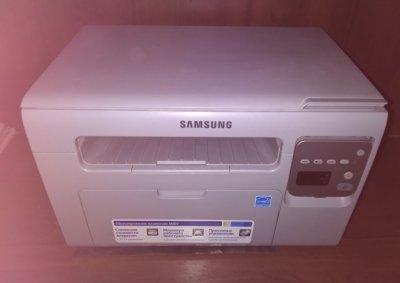 Исправный домашний лазерный МФУ Samsung 3400