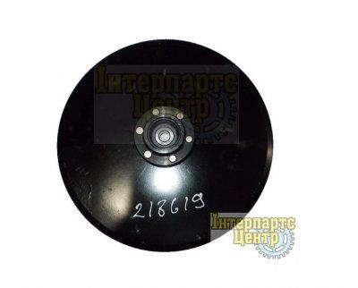 Диск сошника для внес. удобр. в сборе 343x4 (AA27458, 141464С92, 864-HD57466, AA57466)