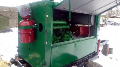 САК сварочный передвижной аппарат - дизельный двигатель Д-144