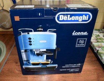 Ручная рожковая кофемашина Delonghi Icona ECO 310.B