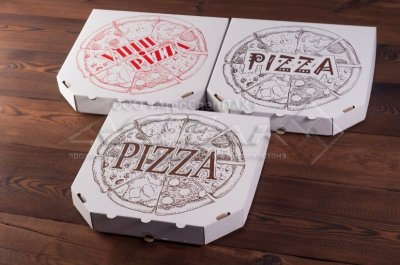 Упаковка для пиццы оптом от производителя.