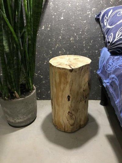 Журнальный / кофейный / прикроватный столик Loft пенек из дерева лофт