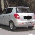 Наклейка на авто Не Би-Би Мозги Белая На заднее стекло авто