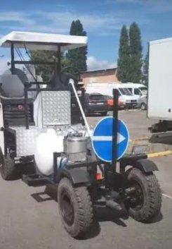 Продам машину розмічальну для нанесення холодного пластику та фарби - Road marking S.A
