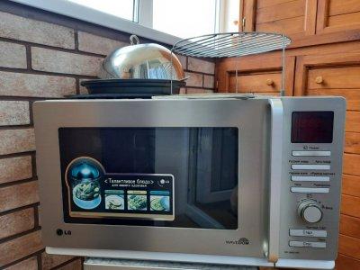 Микроволновая печь LG MC-8087VRC