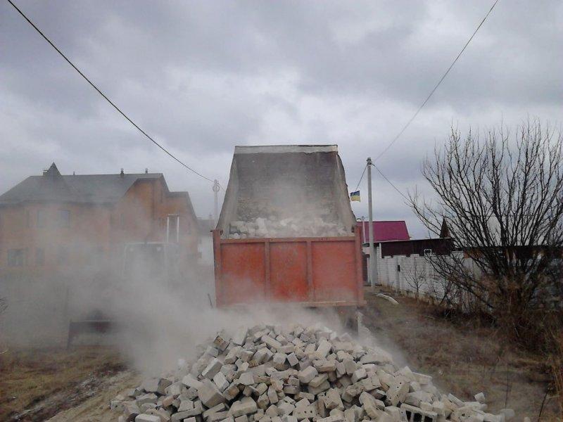 Битый кирпич, купить битый кирпич в Киеве