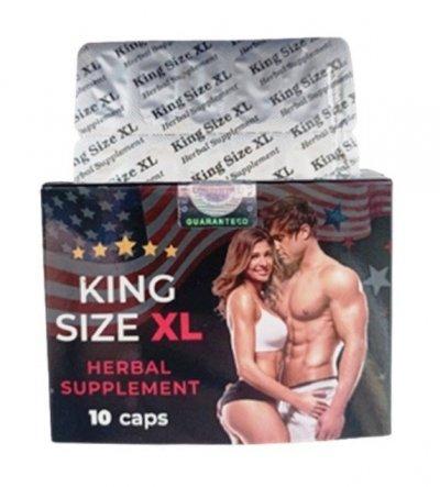 """Мощные натуральные капсулы для потенции """"King Size XL"""""""