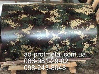 Профнастил камуфляж от производителя, Профнастил камуфляж-пиксель