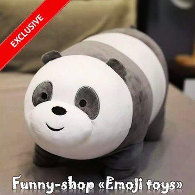 Плюшевая и эксклюзивная игрушка «Любимая Panda» - эту игрушку очень хочется обнимать и жамкать